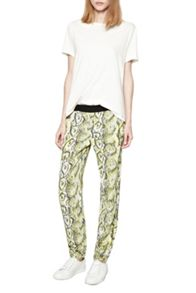 Soho Boa Drape Trousers