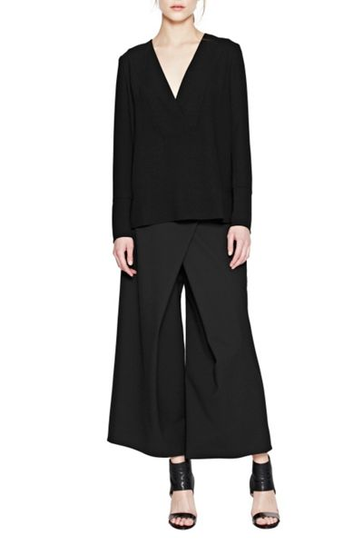 French Connection Arrow Crepe Tunic