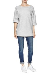 Cocoon Marl Oversized Sweater