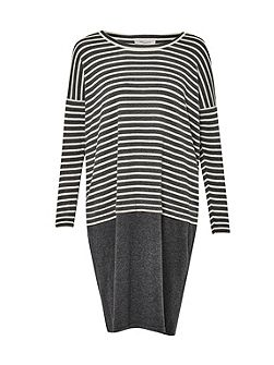Georgie Stripe Knitted Dress