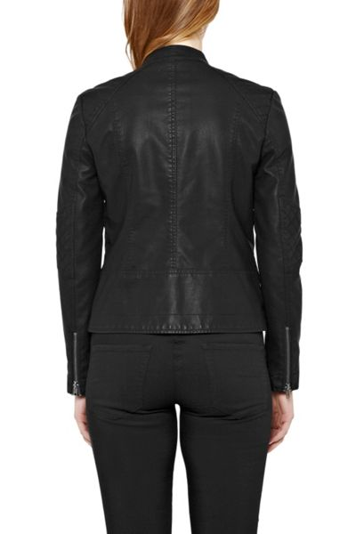 Great Plains Brando Quilted Biker Jacket
