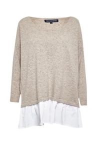 French Connection Clara Layered Knit Jumper