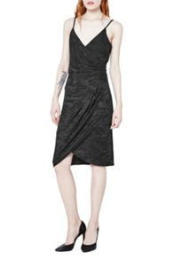 French Connection Stable Jacquard Strappy Dress