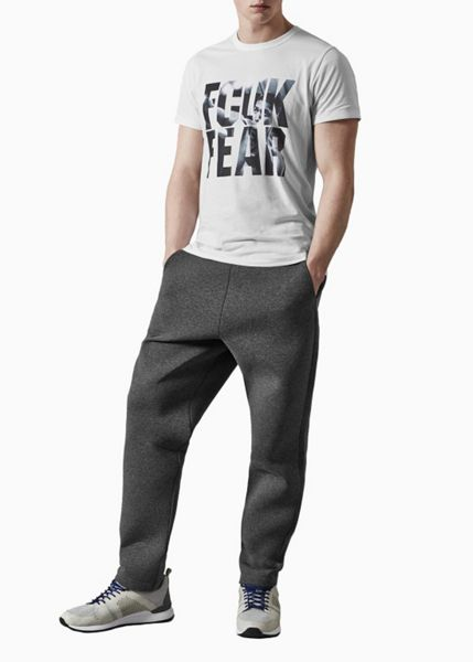 French Connection Fcuk Fear Graphic Crew Neck Regular Fit T-Shirt