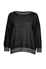 French Connection Hollywood Knits L/S Round Neck Jumper