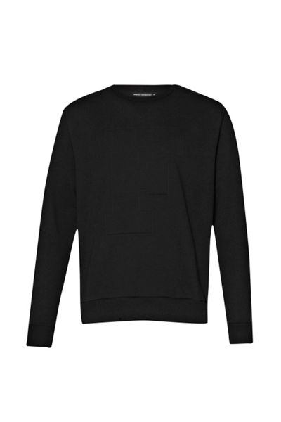 French Connection Fcuk Fear Graphic Crew Neck Pull Over Jumpers
