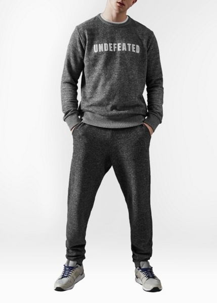 French Connection Fcuk Fear Undefeated Marled Carrot Fit Casual Tra