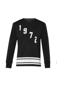 French Connection Fcuk Fear 1972 Graphic Crew Neck Pull Over Jumper