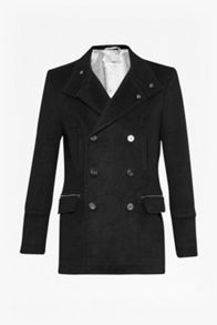 French Connection Reed melton peacoat jacket