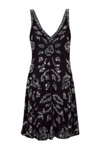 French Connection Angelica Jewel Sequin Dress