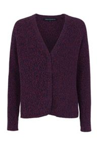 French Connection Naughty Bright Knitted Cardigan