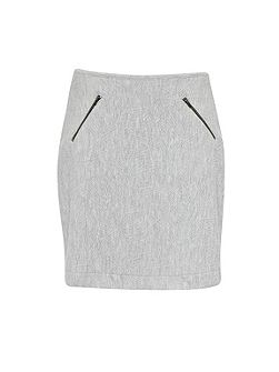 Prism Quilting Zips Skirt