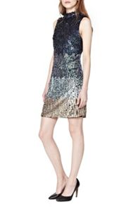 French Connection Cosmic Beam Sequin Dress