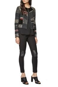 French Connection Dark Angel Biker Jacket