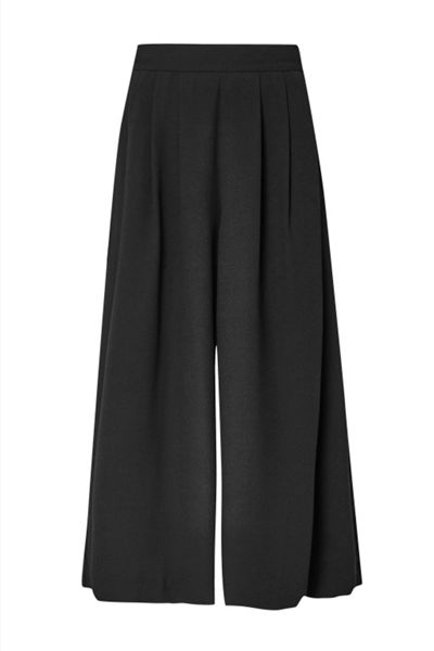 French Connection Ft Aro Crepe Wide Leg Trousers