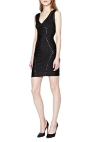 French Connection Frosted Spotlight Embellished Bodycon Dress