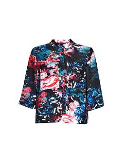 After Party Floral Top