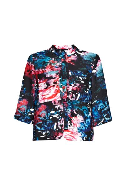 French Connection After Party Floral Top