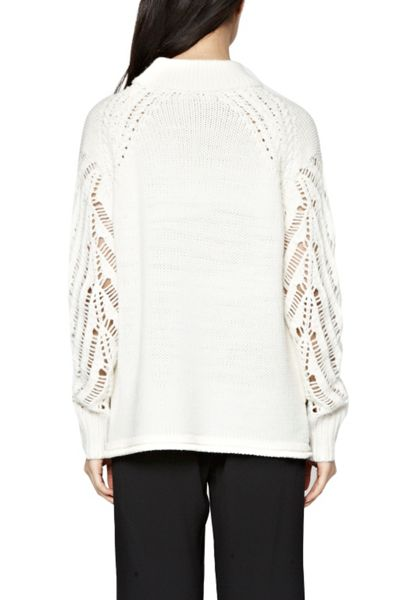French Connection Kora Perforated Jumper