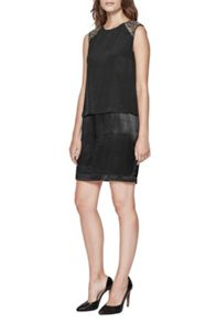 Great Plains Icicle Beads Layered Dress