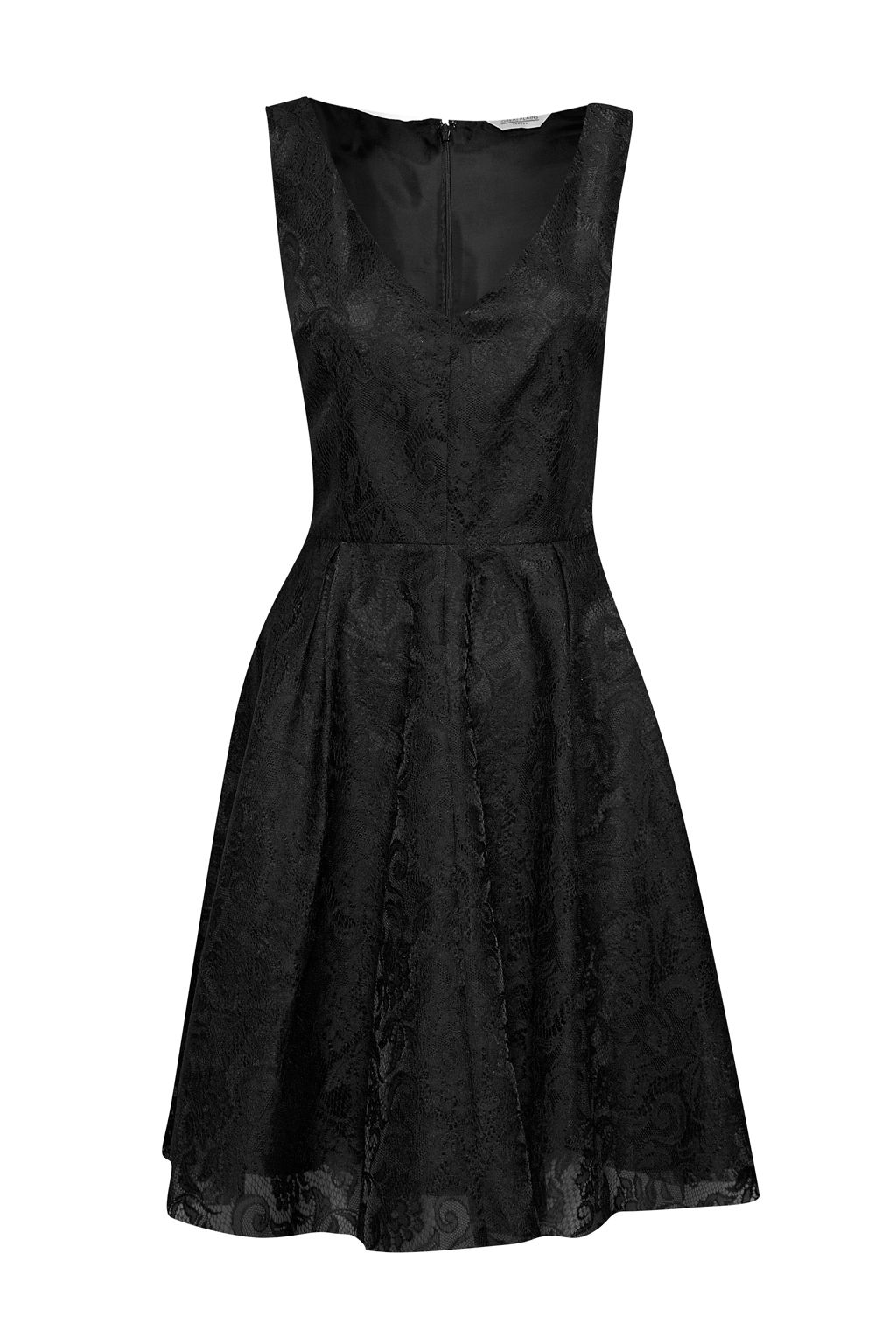 Great Plains Great Plains Maria Lace Dress, Black