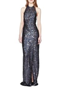 French Connection Lunar Sparkle Maxi Dress