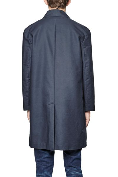 French Connection Coated Cotton Rain Mac