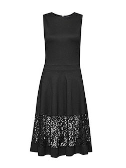 Beau Lace Detail Dress