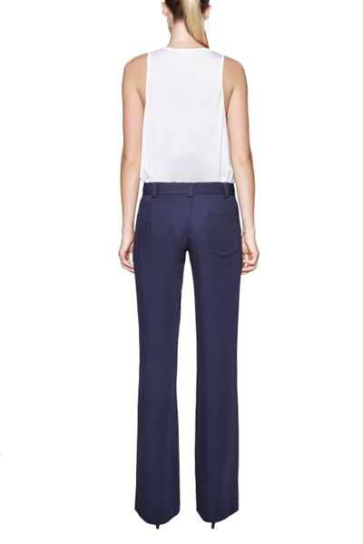 French Connection Rikki Crepe Bootcut Trousers