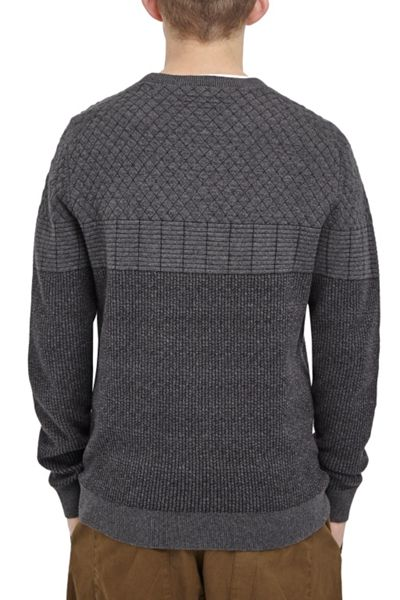 French Connection Arua Relief Knits Jumper