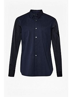 Stretch Poplin Brosnan Shirt