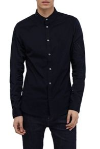 French Connection Stretch Poplin Brosnan Shirt