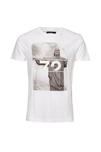 French Connection Rio `72 Graphic Marlon T-Shirt