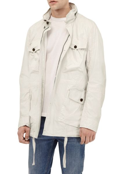 French Connection Wolfram Coated Cotton Jacket