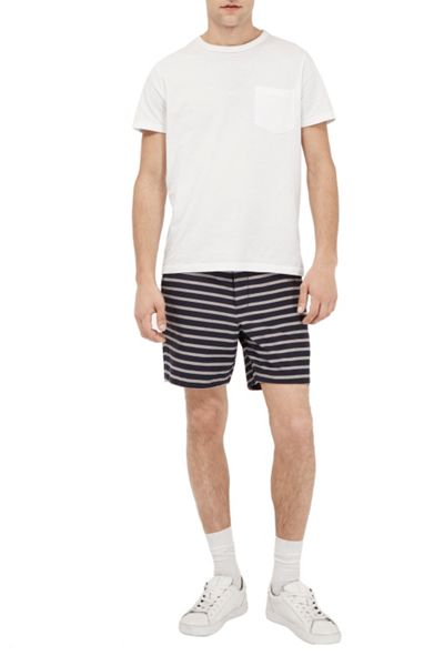 French Connection Oxford Stripe Shorts