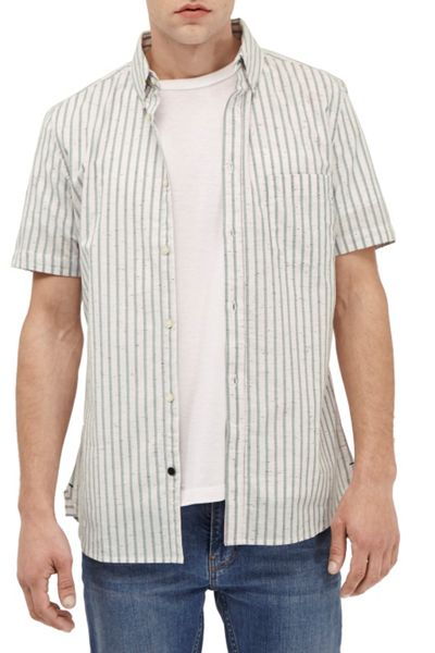 French Connection Volley Stripe Connery  Shirt