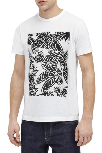 French Connection Parrot Palms Marlon T-Shirt