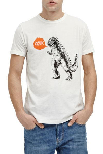 French Connection Toy Growl Crew Ss Tee
