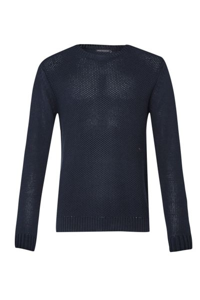 French Connection Swipe Knits Long sleeve Crew Neck Jumper