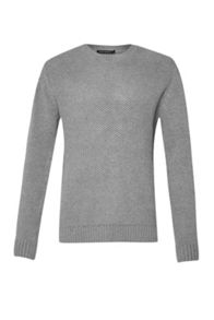 French Connection Swipe Knits Ls Crew Nk Jumper