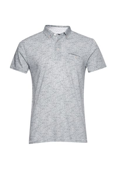 French Connection Mix Daisy Polo Shirt