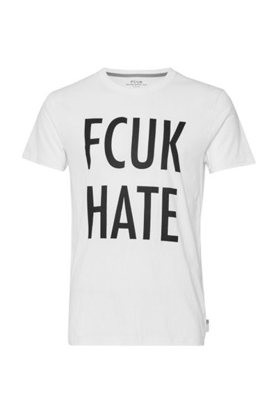 French Connection Fcuk Hate Tee