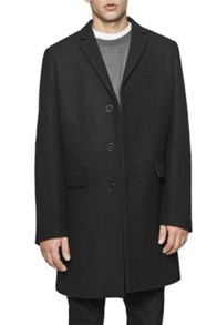 French Connection Melton Overcoat