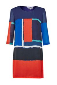 Great Plains Art Class Printed Shift Dress
