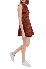 French Connection Canyon Sands Fit and Flare Dress