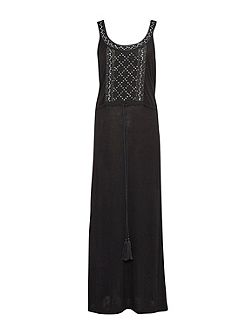 Goldie Stone Embellished Maxi Dress