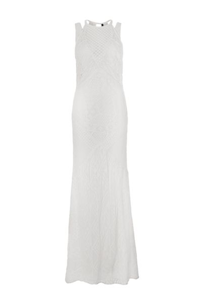 French Connection Rene Lace Maxi Dress
