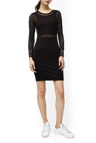 French Connection Sia Ls Rd Nk Dress