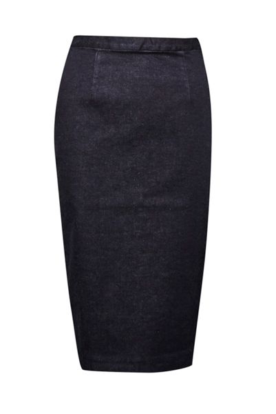 French Connection Svelte Denim Pencil Skirt