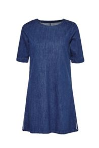 French Connection Stretch Modal Denim Shift Dress